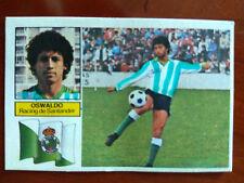 Cromo Oswaldo baja Racing liga 82 83 ediciones este temporada 1982 1983 fútbol