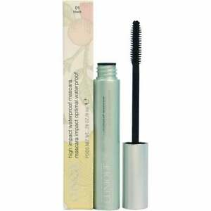 CLINIQUE HIGH IMPACT MASCARA #1 8ML WATERPROOF - NEW BOXED & SEALED - FREE P&P