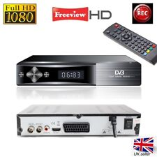 Teknikal HD Freeview Set Top Box Receiver & Recorder for Digital TV Channels USB