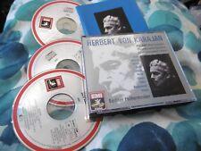 MOZART WIND CONCERTOS 3 CD EMI VAN KARAJAN BERLINER PHILHARMONIKER BLAU GALWAY