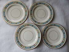 4 Emery Bird Thayer & Co Salad Plates-Made in England-Beautiful!!!