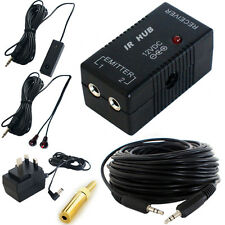 IR Infrared Hub Repeater System -Remote Control Extender- Magic Eye Receiver Kit