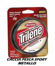 Trilene 100% FLUOROCARBON XL Berkley 0.60 mm 50 MT 24,2 KG CLEAR filo INVISIBILE