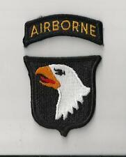 US ARMY PATCH - 101ST AIRBORNE DIVISION WITH TAB