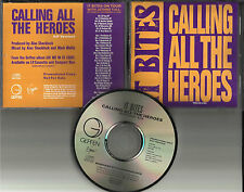 Francis Dunnery IT BITES Calling All heroes PROMO DJ CD Single JETHRO TULL TOUR