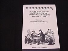 The Journal of the American-Irish Historical Society Volume III - 1900 - REPRINT