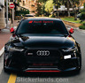 Audi SPORT windscreen  sticker decal RS S line S3 S4 S5 S6 S7 S8 rear bumper