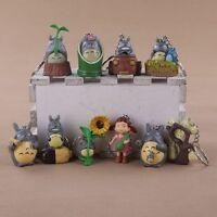 Totoro Llavero PVC Studio Ghibli Miyazaki Anime Keyring Gatobús Keychain #1