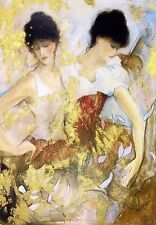 "JANET TREBY ""TWO DANCERS"" 