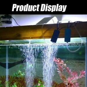Mini USB Aquarium Oxygen Pump Fish Tank Aquatic Animals Air Supplies Pump Z8P9