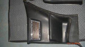 67 1968 1969 1970 CADILLAC ELDORADO INTERIOR BLACK UPHOLSTERED REAR SIDE PANEL