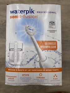 Waterpik- SF-02CD010-1 Sonic Fusion Professional Flossing Toothbrush ~~ White~~~