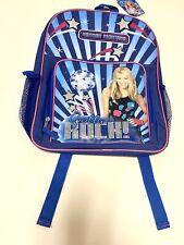 NEW ! Hannah Montana Miley Cyrus Back Pack Book Bag Disney