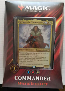 Magic the Gathering MTG Commander 2019 Mystic Intellect Sevinne