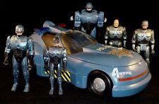 Robocop ROBORIDE Police Car Complete Plus 5 x Action Figures Toy Island 1999