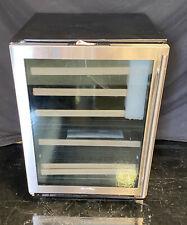 "Marvel Ml24Wdg3Ls 24"" Built-In 2 Zone Wine Refrigerator with 40-Bottle Capacity"