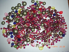 200g Mixed Lot Beads for Jewellery Making and Craft 100s Glass & Acrylic Lot 17