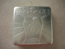 MONOPOLY 70TH ANNIVERSARY EDITION,100% COMPLETE, SILVER METAL COLLECTORS TIN