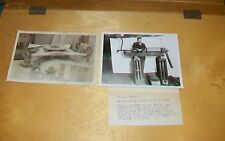 AIRCRAFT GAS TURBINE ENGINE BELINSKI + PROPELLER BOSS? PHOTOGRAPHS (2)