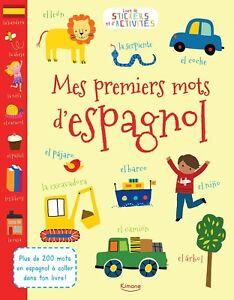 Mes premiers mots d'espagnol.  Leslie Grainger