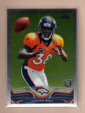 MONTEE BALL 2013 TOPPS CHROME SHORT PRINT VARIATION ROOKIE CARD