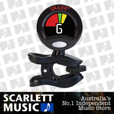 SNARK Clip-On Chromatic Uke Ukulele Tuner Black SN-6X - w/12 Months Warranty.