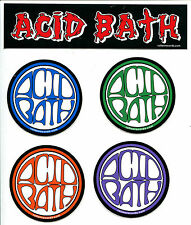 ACID BATH - STICKER PACK - OFFICIAL STICKERS - DECALS-WHEN THE KITE STRING POPS