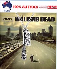 The Walking Dead Cudgel And Letter Punk Alloy Pendant Necklace CRAZY SALE EVER