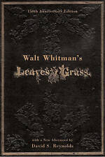 Walt Whitman Literary Criticism Hardback Books