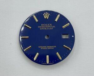 rolex dial Blue 36mm. Factory 16013-16233 MINT