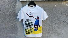FW14 Raf Simons Pop Art Clover Bottle Slim Fit Men's T-shirt size M (XS / S)