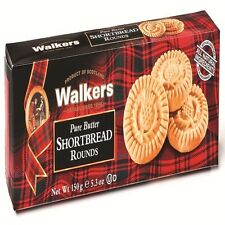 Walkers Pure Butter Scottish Shortbread Rounds-150g- Made in Scotland