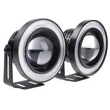 Blue 30W LED COB DRL Halo Projector Lens Fog Driving Lights Lamp Kit Universal