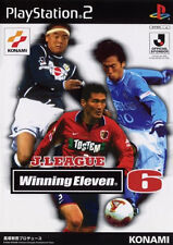 Used PS2 Winning Eleven 6: J. League Japan Import (Free Shipping)