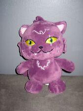 Peluche Chat violet MONSTER HIGH    ( hauteur : 21 cm   )
