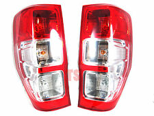 Pair Lh+Rh Tail Light Lamps Fits Ford Ranger T6 2dr 4dr Xlt Px Genuine 2012 15