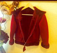 Suede Winter Jacket With Fur Retails $459.99