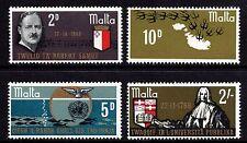 Malta 1969 Anniversaries Complete Set SG 418 - 421 Unmounted Mint
