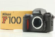 【 MINT in BOX 】 Nikon F100 35mm SLR Film Camera Body Black From JAPAN  #9461021