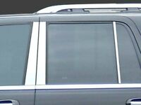 6PC Stainless Steel Pillar Post Trim - PP37384 For FORD EXPEDITION 1997-2014