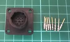 Compañero Simrad Vhf Radio Auricular 8 Pin Plug Conector AMP 205841-1 Macho