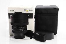 Sigma 12-24mm f4 DG HSM Art 016 Lens 12-24/4 Canon EF #237