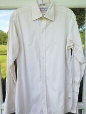 Turnbull Asser London Men's Two-Fold Cotton Dress Shirt 15 1/2 39 Medium England