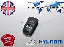 Genuine hyundai RKE-4A02, I10 I20 I30 ix35 433mhz remote alarm flip key fob