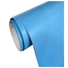 Himmelblau Auto Folie matt breit BLASENFREI selbstklebend Klebe Folie 60x15 M9G9