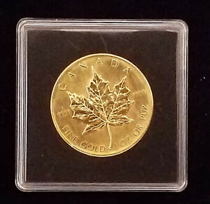 Goldmünze Maple Leaf Kanada 1 oz 1988  Stempelglanz