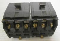 (2) Square D Type QOB Circuit Breakers 2P 30A 240VAC