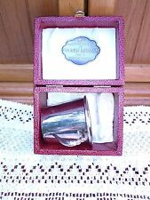 Silver Plated Baby Cup Baby Collectibles