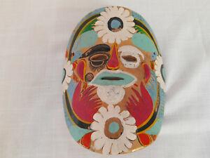 Colorful Ceramic Mask Home Decor