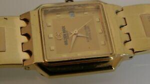 Konvolut 3x Armbanduhr Artron Disney Golden Rock Geneve 18 KT 18 K GP Crystal